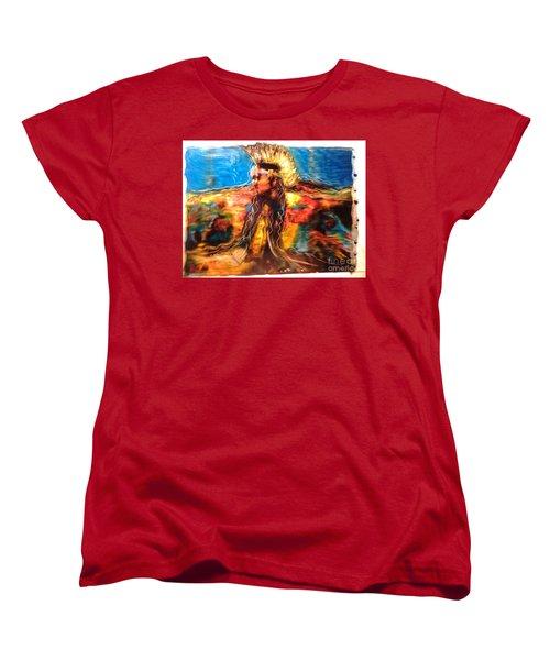 Stepping Into The Soul Women's T-Shirt (Standard Cut)