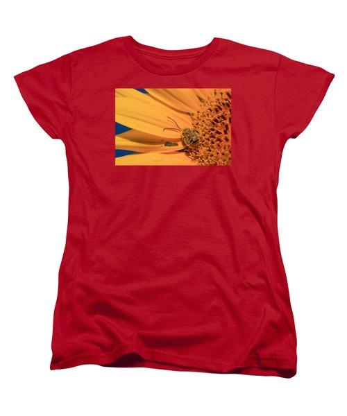 Women's T-Shirt (Standard Cut) featuring the photograph Still Sleeping by Chris Berry