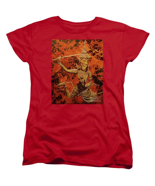 Women's T-Shirt (Standard Cut) featuring the painting Stoned Love by Stuart Engel