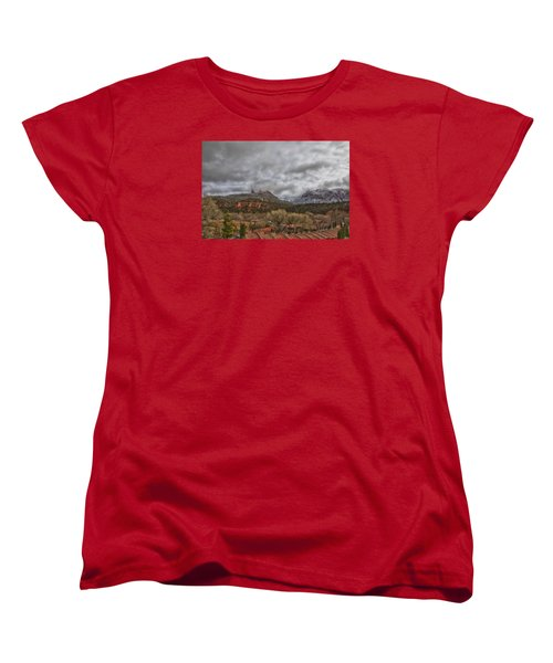 Women's T-Shirt (Standard Cut) featuring the photograph Storm Lifting by Tom Kelly