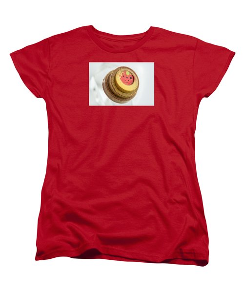 Strawberry Strawberry Women's T-Shirt (Standard Cut) by Sabine Edrissi