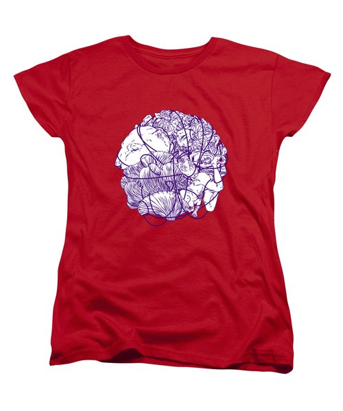 Stuff Women's T-Shirt (Standard Cut) by Evgenia Chuvardina