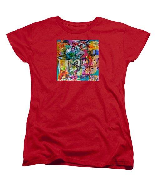 Summer Breeze  Women's T-Shirt (Standard Cut) by Corina  Stupu Thomas