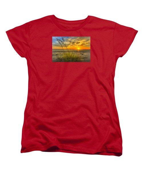 Summer Breezes Women's T-Shirt (Standard Cut) by Marvin Spates