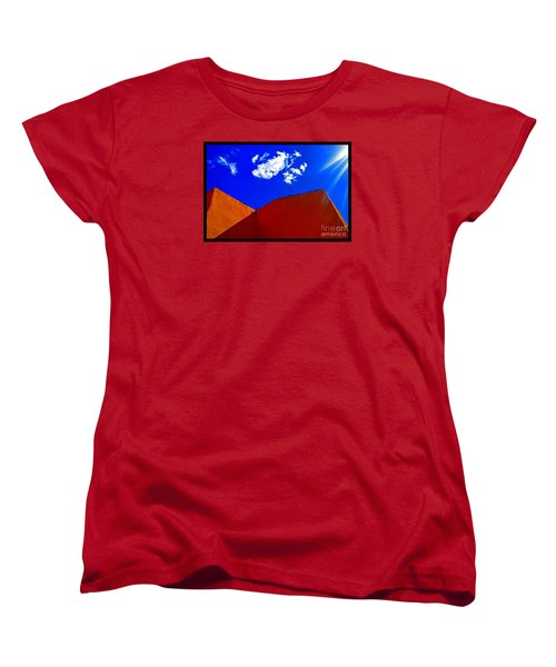 Women's T-Shirt (Standard Cut) featuring the photograph Summer Day In The New World by Susanne Still