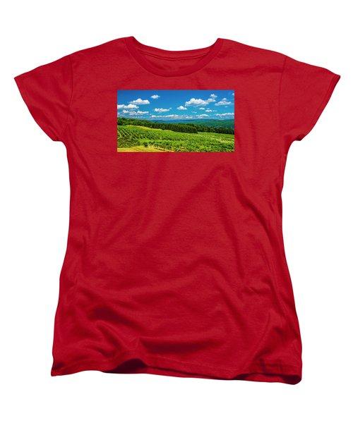 Summer Fields Women's T-Shirt (Standard Cut) by Steven Ainsworth
