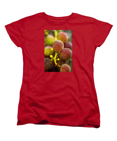 Women's T-Shirt (Standard Cut) featuring the photograph Summer Grapes by Tom Singleton