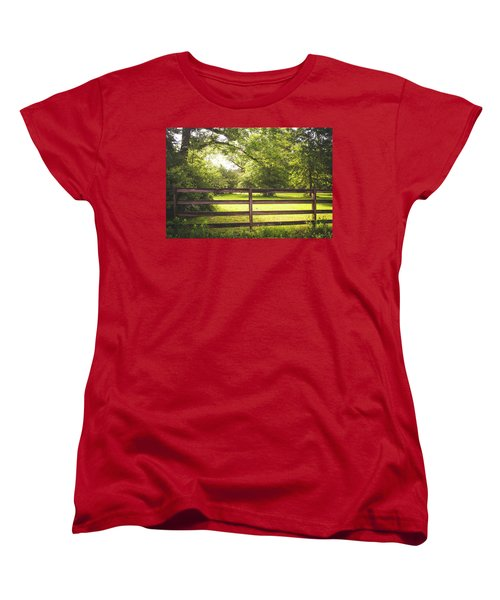 Women's T-Shirt (Standard Cut) featuring the photograph Summertime Sunshine by Shelby Young