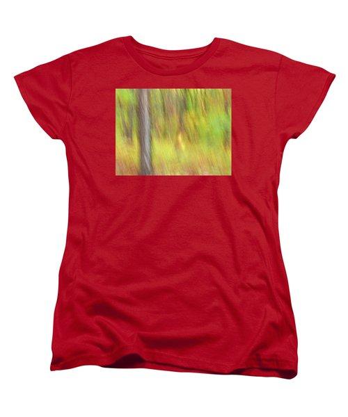 Sun Kissed Tree Women's T-Shirt (Standard Cut) by Bernhart Hochleitner