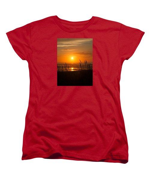 Sun Setting 2 Women's T-Shirt (Standard Cut) by Adria Trail