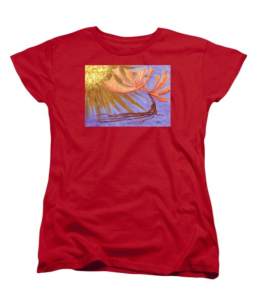 Sundancer Women's T-Shirt (Standard Cut) by Charles Cater