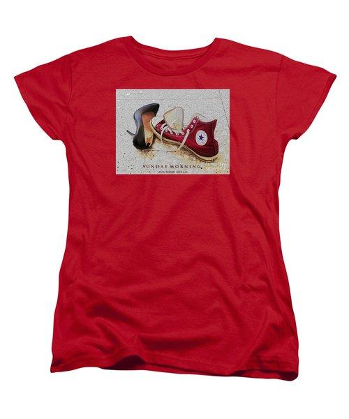 Sunday Morning Women's T-Shirt (Standard Cut) by Don Pedro De Gracia