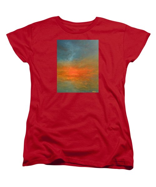 Sundown Women's T-Shirt (Standard Cut) by Jane See