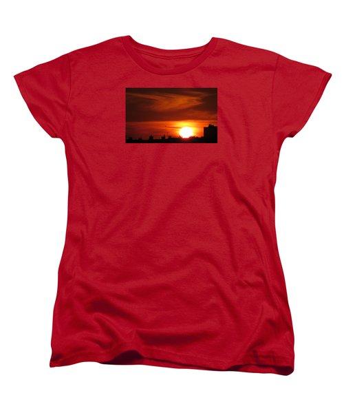 Sundown Women's T-Shirt (Standard Cut) by John Topman