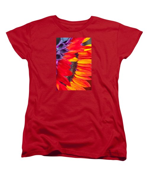 Sunflower #7 Women's T-Shirt (Standard Cut) by Mark Alder