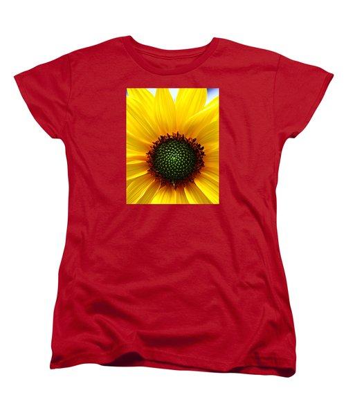 Sunflower Macro Women's T-Shirt (Standard Cut)