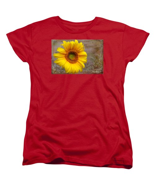 Sunflower Serenade Women's T-Shirt (Standard Cut) by Nina Silver