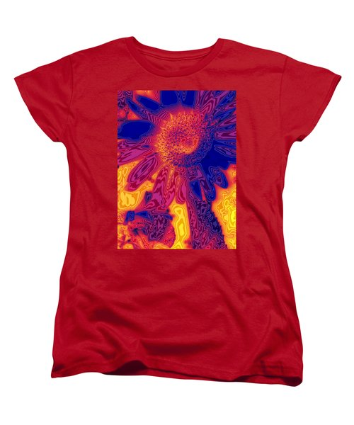 Sunny And Wild Women's T-Shirt (Standard Cut) by Stephen Anderson