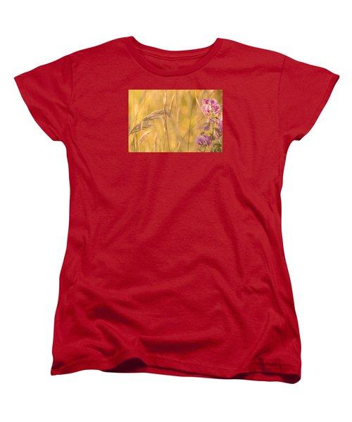 Sunny Garden 2 Women's T-Shirt (Standard Cut) by Bonnie Bruno