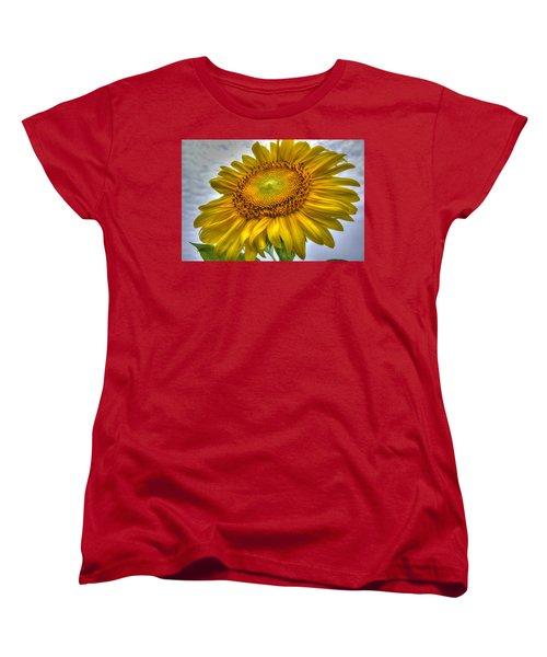 Sunny Side Up Women's T-Shirt (Standard Cut) by Charlotte Schafer