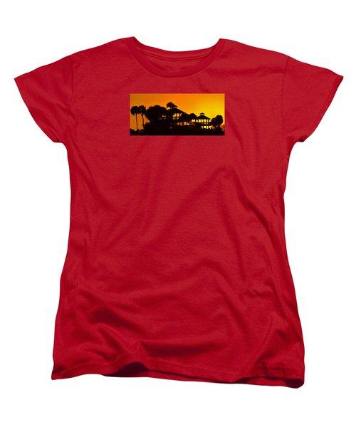 Sunrise At Barefoot Park Women's T-Shirt (Standard Cut)