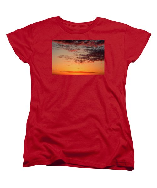Women's T-Shirt (Standard Cut) featuring the photograph Sunrise At Treasure Island by RC Pics