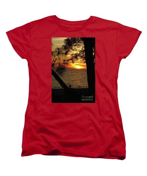 Sunset 1 Women's T-Shirt (Standard Cut) by Megan Cohen