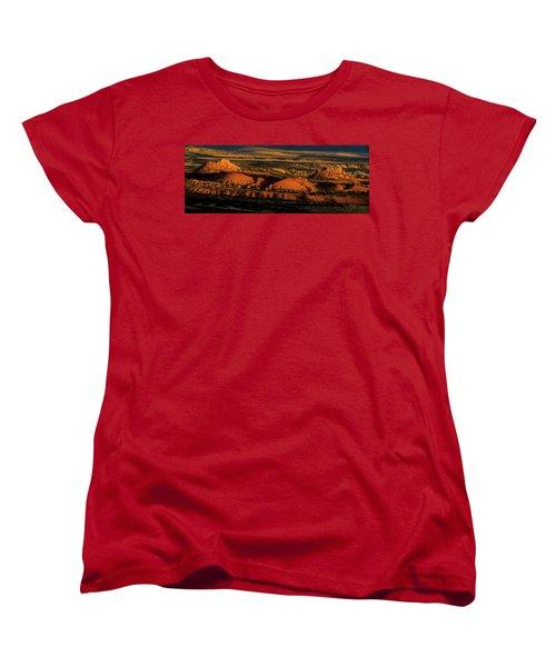 Sunset At Donkey Flats Women's T-Shirt (Standard Cut)
