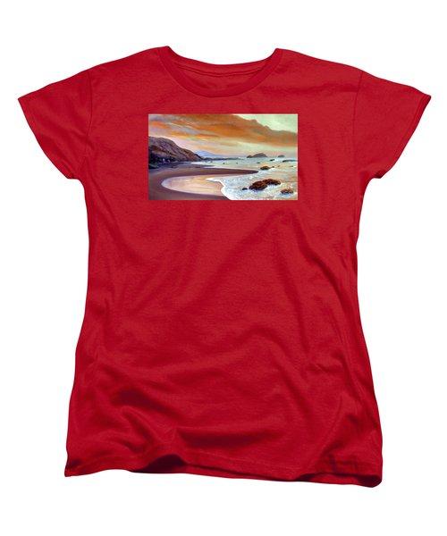 Sunset Beach Women's T-Shirt (Standard Cut)