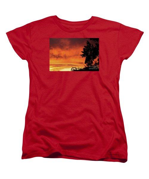 Sunset In Reno, Nevada Women's T-Shirt (Standard Cut)