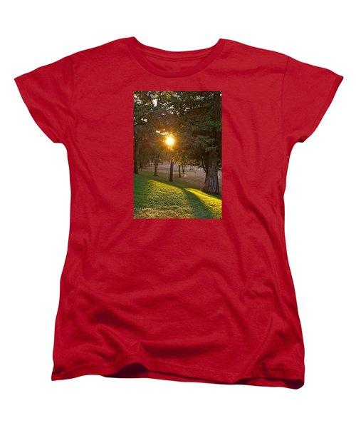 Sunset Retreat Women's T-Shirt (Standard Cut) by Michele Myers
