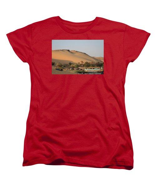 Sunset Women's T-Shirt (Standard Cut) by Silvia Bruno