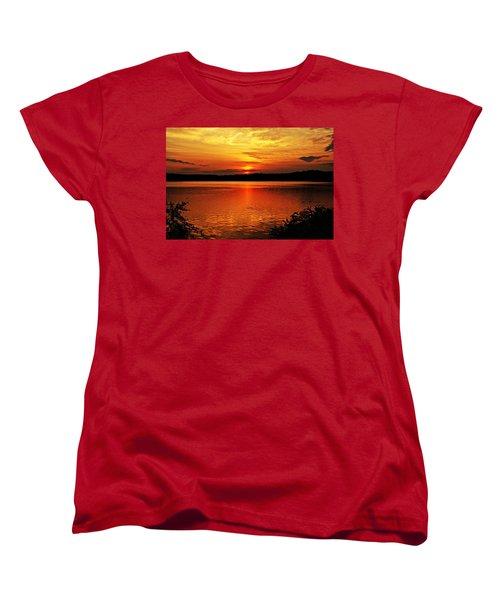 Sunset Xxiii Women's T-Shirt (Standard Cut) by Joe Faherty
