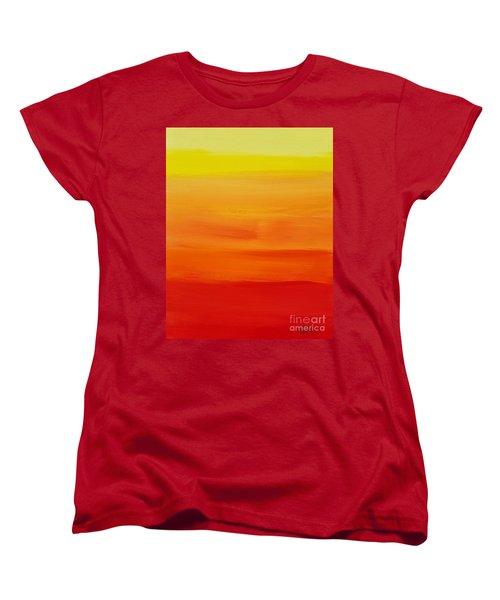 Sunshine Women's T-Shirt (Standard Cut) by Sean Brushingham