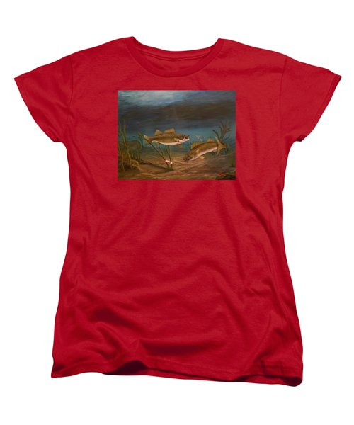 Supper Time Women's T-Shirt (Standard Cut) by Sheri Keith