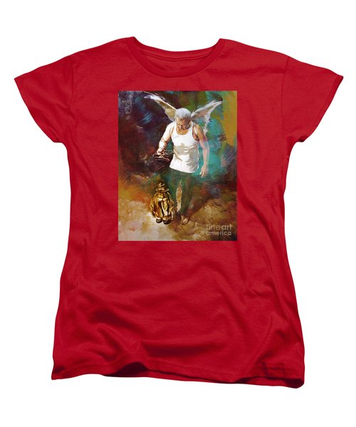 Women's T-Shirt (Standard Cut) featuring the painting Surreal Art  by Gull G