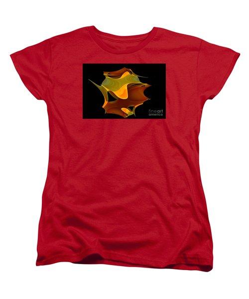 Surreal Shape Women's T-Shirt (Standard Cut) by Thibault Toussaint