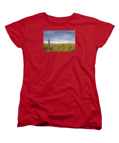Women's T-Shirt (Standard Cut) featuring the photograph That That Same Small Town In Each Of Us by Dana DiPasquale