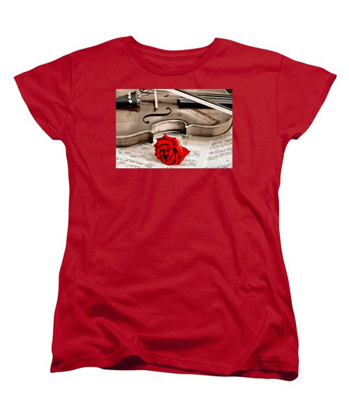 Sweet Music Women's T-Shirt (Standard Cut)