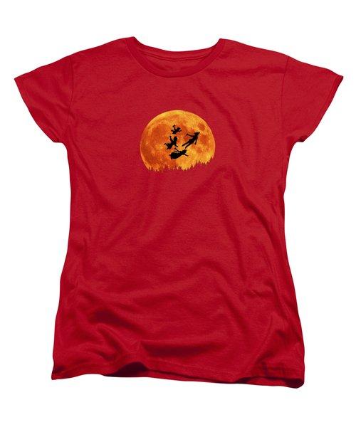 Take Me To Neverland Women's T-Shirt (Standard Cut) by Koko Priyanto