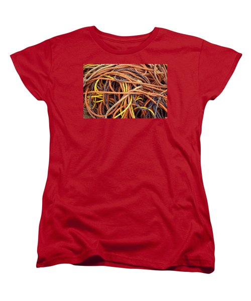 Tangle Women's T-Shirt (Standard Cut) by Brent L Ander