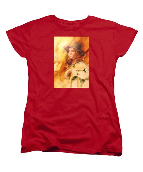 Tangy Women's T-Shirt (Standard Cut) by Denise Fulmer