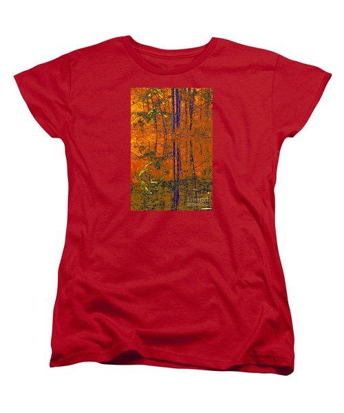 Tapestry Women's T-Shirt (Standard Cut) by Steve Warnstaff