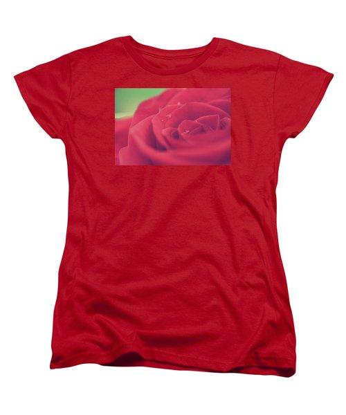 Tears Of Love Women's T-Shirt (Standard Cut) by Laurie Search