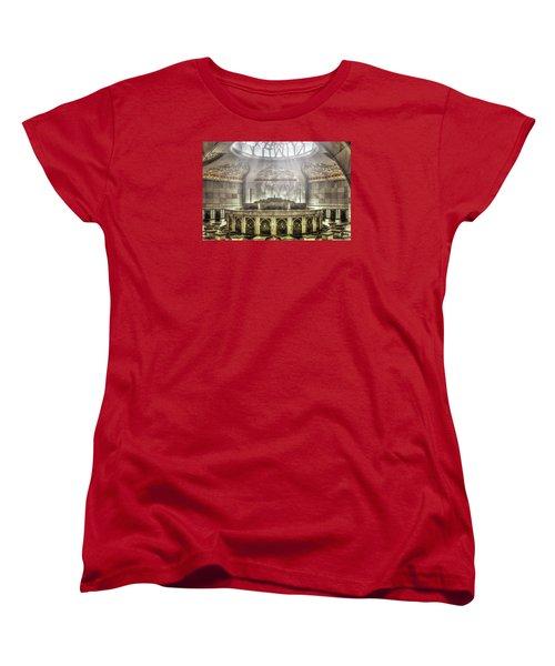 Temple Washroom Women's T-Shirt (Standard Cut) by John Swartz