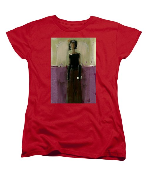 Temporary Wall Flower Women's T-Shirt (Standard Cut) by Jim Vance