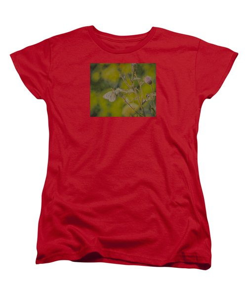 Textured Butterfly 1   Women's T-Shirt (Standard Cut) by Leif Sohlman