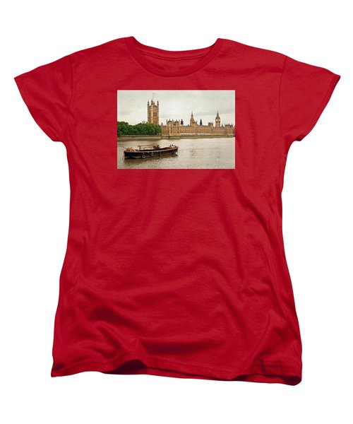 Thames Women's T-Shirt (Standard Cut) by Keith Armstrong