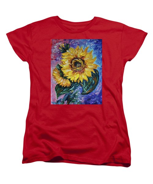 That Sunflower From The Sunflower State Women's T-Shirt (Standard Cut)