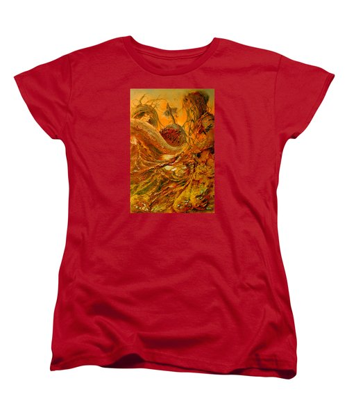 Women's T-Shirt (Standard Cut) featuring the painting The Alchemist by Henryk Gorecki